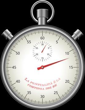 chronomètre géant; sport stopwatch;giant chrono poster