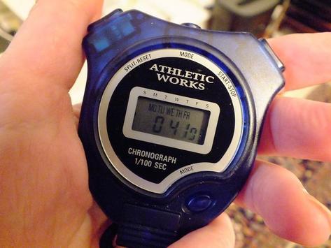 chronomètre géant; sport stopwatch;giant chrono screenshot 1