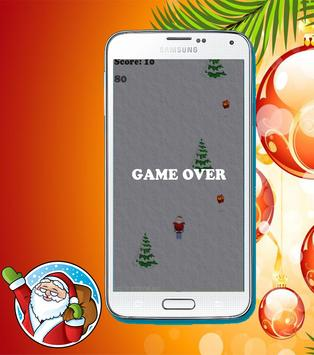 christmas santa skiing apk screenshot