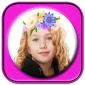 flower crown image editor 2017 icon
