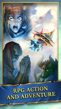 Saber's Edge - Puzzle RPG apk screenshot