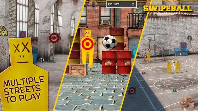 Swipeball - Street Football captura de pantalla 3