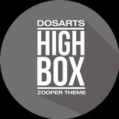 High Box Zooper Theme simgesi