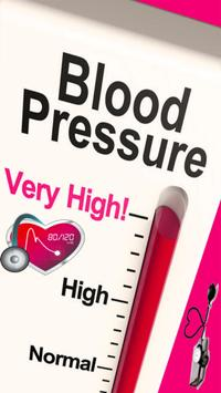 High Blood Pressure Tips poster