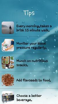High Blood Pressure Tips screenshot 6