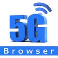 5G Speed Browser: Light & Fast - Speed Up Internet
