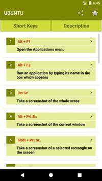 Computer Shortcut Keys Offline 2018 apk screenshot