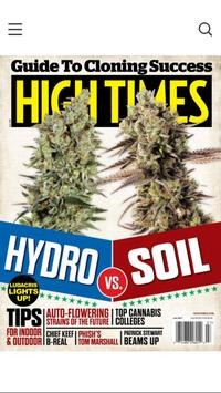 High Times Magazine poster