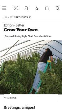 High Times Magazine apk screenshot