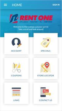 Rent One Customer Portal poster