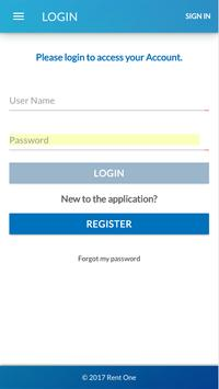Rent One Customer Portal apk screenshot