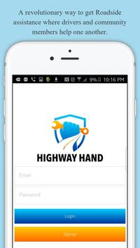Highway Hand Roadside Assist poster