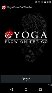 Yoga Flow on the Go poster