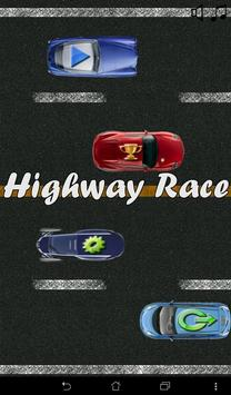Highway Race poster