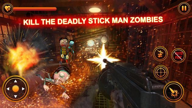 Stickman Zombie Counter Shooter: Last Man Survival screenshot 10
