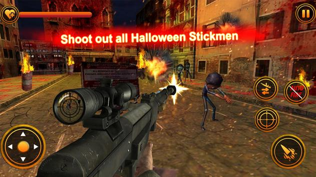 Stickman Zombie Counter Shooter: Last Man Survival screenshot 8