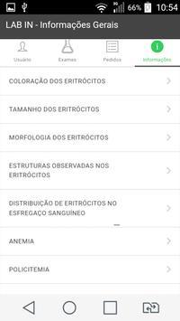 LAB IN - Solicitação de Exames screenshot 2