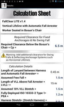 FallClear LITE - Calculators screenshot 11