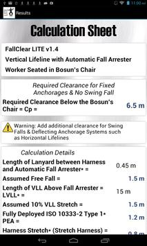 FallClear LITE - Calculators screenshot 3