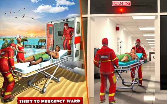 Beach Party Emergency Surgery Doctor Simulator 3D screenshot 7