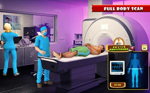 Beach Party Emergency Surgery Doctor Simulator 3D screenshot 8