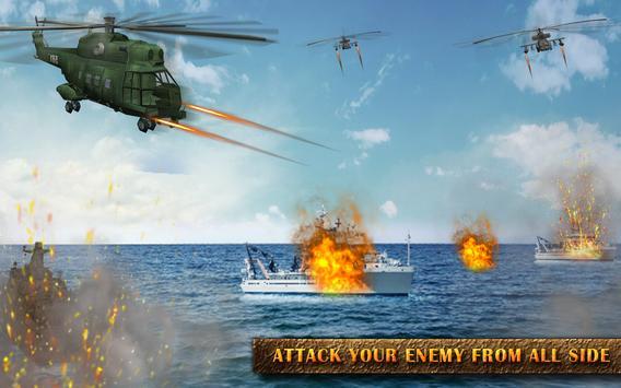 Gunship Helicopter Modern war 3d screenshot 8