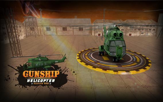 Gunship Helicopter Modern war 3d screenshot 12