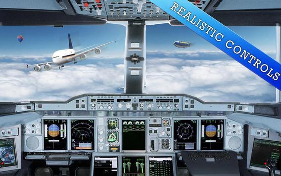 Real Euro Plane Flight Simulator 2018 screenshot 10