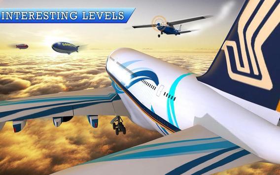 Real Euro Plane Flight Simulator 2018 screenshot 7