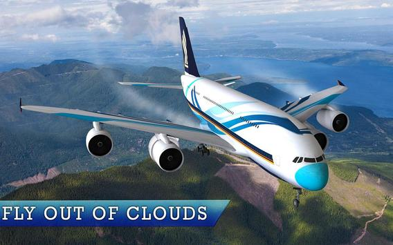 Real Euro Plane Flight Simulator 2018 screenshot 6