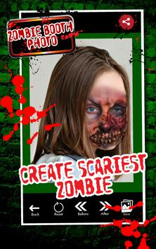 Zombie Booth Photo Editor Pro poster