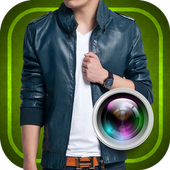 Jacket Man Photo Suit icon