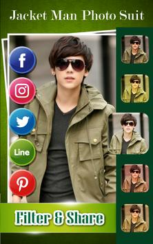 Jacket Man Photo Suit apk screenshot