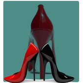 high heels designs icon