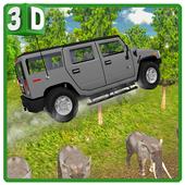 Crazy Jungle Car Stunts 3D icon