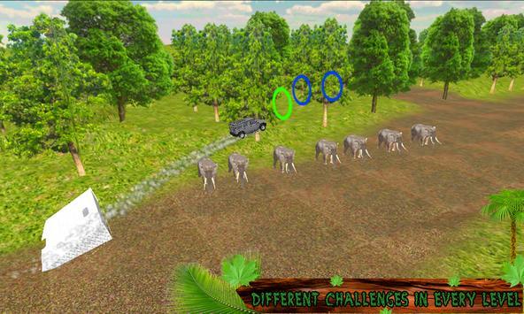 Crazy Jungle Car Stunts 3D screenshot 1
