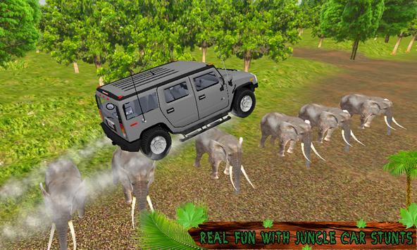Crazy Jungle Car Stunts 3D screenshot 2