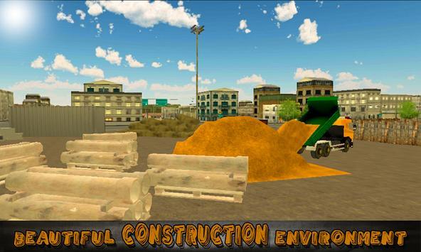 Heavy Excavator Truck Sim 3D screenshot 3