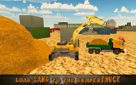 Heavy Excavator Truck Sim 3D screenshot 4