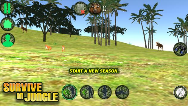 Survive in Jungle apk screenshot