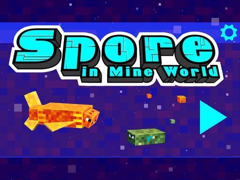 Spore In Mine World poster