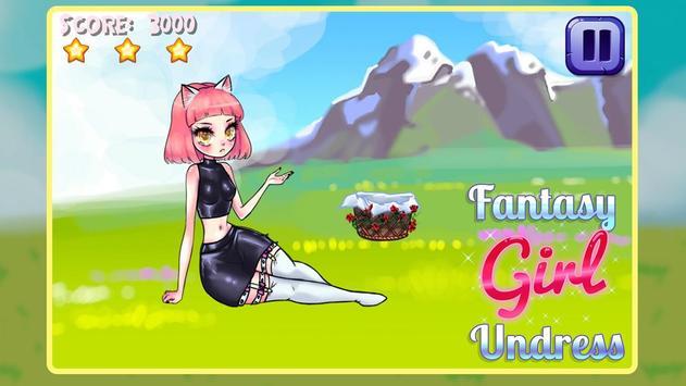 Fantasy Girl Undress poster