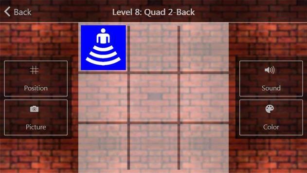 Dual N-back IQ prémio cérebro imagem de tela 3