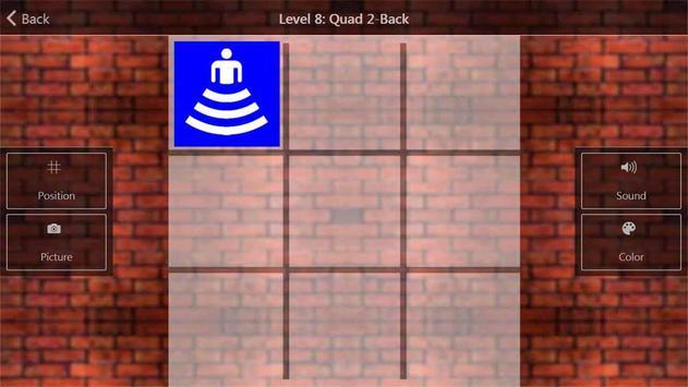 Dual N-back IQ prémio cérebro imagem de tela 2