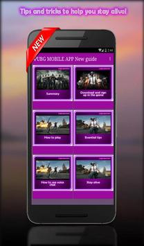 Guide For PUBG MOBILE : Tips, Tricks & Strategy screenshot 2
