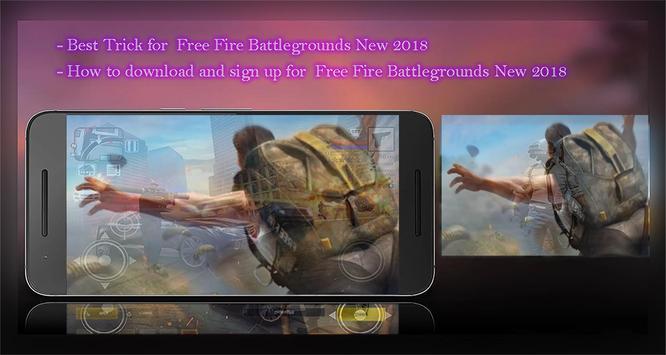 Free Fire Battlegrounds App New Guide: tips, trick poster