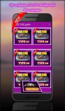 Free Fire Battlegrounds App New Guide: tips, trick apk screenshot