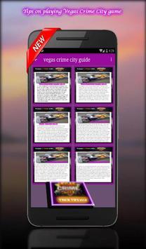 Vegas Crime City New App guide: Tips Trick & Cheat apk screenshot