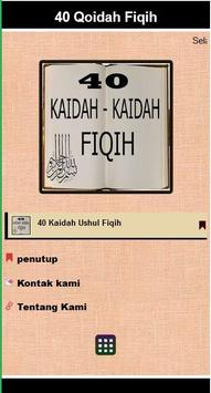 KAIDAH USHUL FIQIH poster