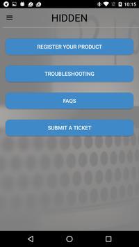 HiddenRadio apk screenshot